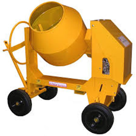 DIESEL SITE CEMENT MIXER