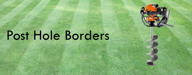 Post Hole Borders Page