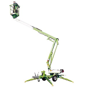 NIFTY 120T TRAILER BOOM LIFTER 12M PLATFORM