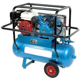 14CFM AIR COMPRESSOR (PETROL) 150 LTR