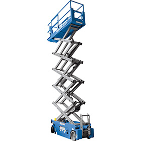 ELECTRIC SCISSOR LIFT 1932 5.8M PLATFORM